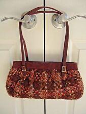 Vera Bradley Burgundy Tweed Handbag