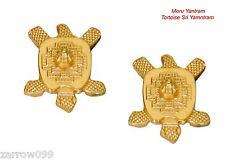 Sacred Meru Yantram Tortoise Sri Yantra Hindu statue Shubh Sri Yantra USA Seller
