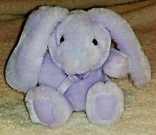 Vintage 1988 Applause Purple Bunny Rabbit Plush Stuffed Animal Sweet Pea