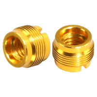 "2x 3/8"" to 5/8"" Threaded Screw Adapter for Microphone Stand Mount Parts"