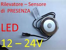 RILEVATORE di presenza LED 12-24V PIR strip G4 sensore MR16 faretti varioluce B