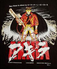 AKIRA KANEDA ORIGINAL 1992 BLACK  T SHIRT SIZE LARGE ANIME TOKYO JAPAN  VINTAGE