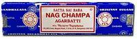 Satya Sai Baba Nag Champa Agarbatti  40 GM  Nag Champa Incense Stick  Satya