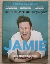 Jamie Oliver – Food and Drink Special - Sunday Times Magazine – 2 November 2014