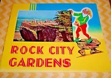 Rock City Gardens Souvenir Book 50's Roadside Attraction Tennessee Lookout Mt.