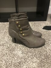 Women's Grey Ankle Boot Size 7