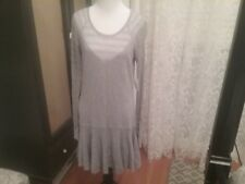 Women's Victoria's Secret Sweater Dress Gray Medium New with Tags Holiday Winter