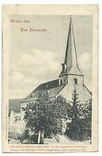 Gruss Aus Bad Neuenahr PPC Unposted, U/B by Kaumann, View of Church