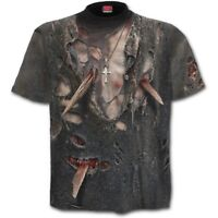 SPIRAL DIRECT ZOMBIE WRAP - Allover T-Shirt Blood/Halloween/Horror/Undead/Tee