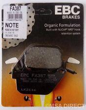 Harley Davidson XL883 (2004 to 2013) EBC Organic REAR Brake Pads (FA387) 1 Set