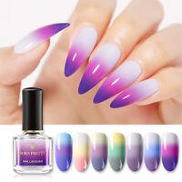 BORN PRETTY 6ml Nagellack Thermal Nail Art Polish Color Changing Maniküre Lack