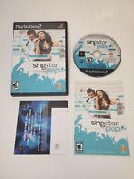 SingStar: Pop PlayStation 2 PS2