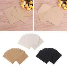 50pcs/lot Craft Paper Envelopes Vintage European Style Envelope For Card