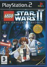 BLACK 1ST ED LEGO Star Wars II: The Original Trilogy-PLAYSTATION 2-PS2