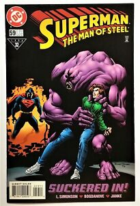 Superman: The Man of Steel #59 (Aug 1996, DC) VF/NM
