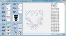 CNC G Code Graphic Outline to G-Code Software- Eng/DE 3 Axis Milling Program