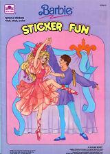 Barbie coloring book RARE UNUSED