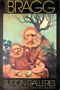 """Charles Bragg 1981 /""""Perfect Couple/"""" Aaron Brothers 35th Anniversary Poster 24x20"""