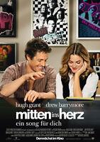 FILMPLAKAT - MITTEN INS HERZ - Filmposter gefaltet DIN-A1 59 cm x 84 cm