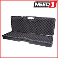 Tsunami 840x340x135mm Hard Gun Plastic Case - Black