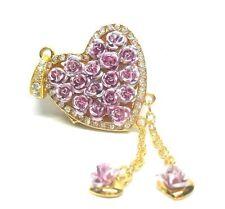 Chiavetta USB Gioiello Memory Stick Rose Cuore Cuore Corazon Rosa 4 GB