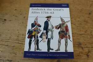 FREDERICK THE GREAT'S ALLIES 1756 - 63 MEN AT ARMS 460 OSPREY BOOKS NEW
