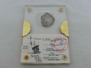c.1600 4 Reales Cob Silver Shipwreck Coin QE-4