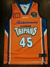 Dusty Rychart 2013 Cairns Taipans Official AND1 NBL Jersey - YOUTH size 12