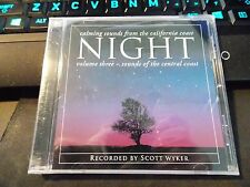 Night by Scott Wyker, CD (2006 Rocky Point Records) Factory Sealed w/ Free Ship