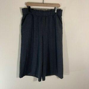 Lululemon Women's Align Wide Leg Crop Gray Size 12 Flare Pants Leggings