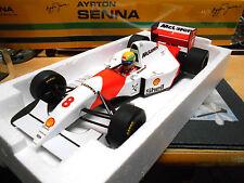 F1 mclaren ford v8 mp4/8 saison #8 1993 Senna Nouveau MINICHAMPS 1:18