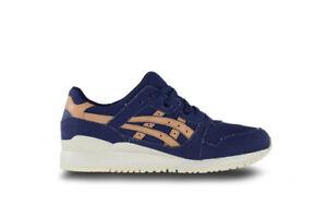 Men's Asics Gel Lyte III Veg Tan Pack Indigo Athletic Fashion Sneaker H7E2N 4971