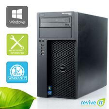 Dell Precision T1650 Workstation  i5-3470 3.20GHz 4GB 500GB Win 7 Pro 1 Yr Wty