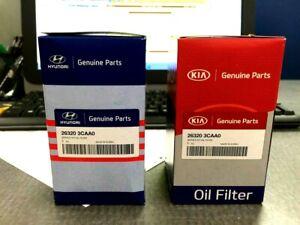 GENUINE ! OIL FILTER for 10-19 HYUNDAI KIA 3.3L 3.5L OE# 26320-3CAA0