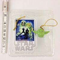 Christmas Star Wars Return of the Jedi Yoda & Movie Poster Hanging Ornament NIB