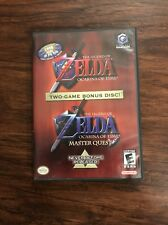 The Legend of Zelda Ocarina of Time + Masterquest Gamecube Two Game Bonus Disc