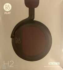Bang & Olufsen Beoplay H2 On-Ear Headphones - Deep Red - BRAND NEW AND SEALED