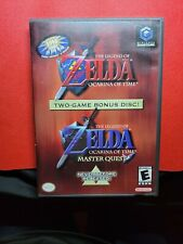 Nintendo Gamecube Zelda Ocarina of Time Master Quest Case & Inserts Authentic