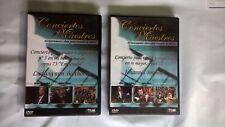 X2 DVD MUSICALES CONCIERTOS MAESTROS, JOHANNES BRAHMS, LUDWIG VAN BEETHOVEN
