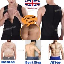 Body Shaper Stomach Wrap Slim Control Belly Belt Vest Shirt Sweat Fat Loss Gym