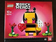 NEW SEALED LEGO 40270 BRICKHEADZ VALENTINE'S BEE SET