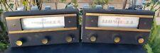 2 Vintage Craftsmen 900 Mono Tube FM Tuner for repair or Part