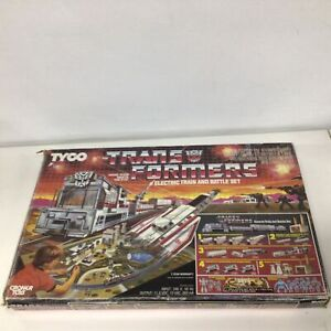 1985 Tyco Transformers Electronic Train and Battle Set  #327