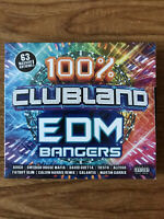 100% Clubland EDM Bangers (CD) Brand New Sealed