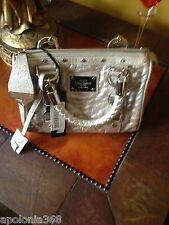 NEW GIANNI VERSACE OSTRICH COUTURE SMALL HAND BAG WITH TAGS $4530