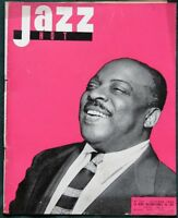 JAZZ Hot - 1956 French Magazine Count Basie  Joe Turner  Lady Sings the Blues