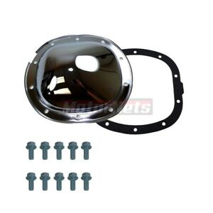 """10 BOLT 7.5"""" / 7.625"""" RING GEAR STEEL REAR DIFFERENTIAL COVER FOR CHEVY GM"""