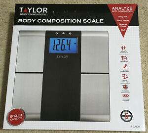 Taylor Body Composition Scale Model #5780FW 500lb BMI Weight 10 User Memory