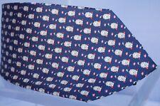 New Salvatore Ferragamo King Lion Tie Men's Classic Print Blue Silk