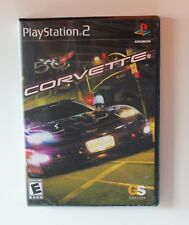 NEW PS2 Corvette Racing Race Video Game Sony PlayStation 2 2004 Sealed Play stat